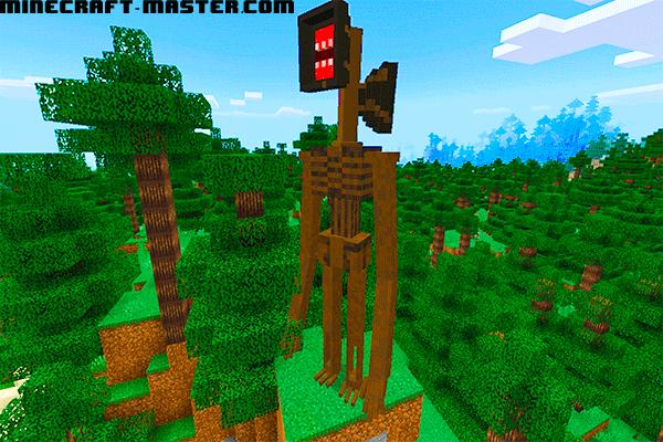 Siren Head Minecraft Master Com